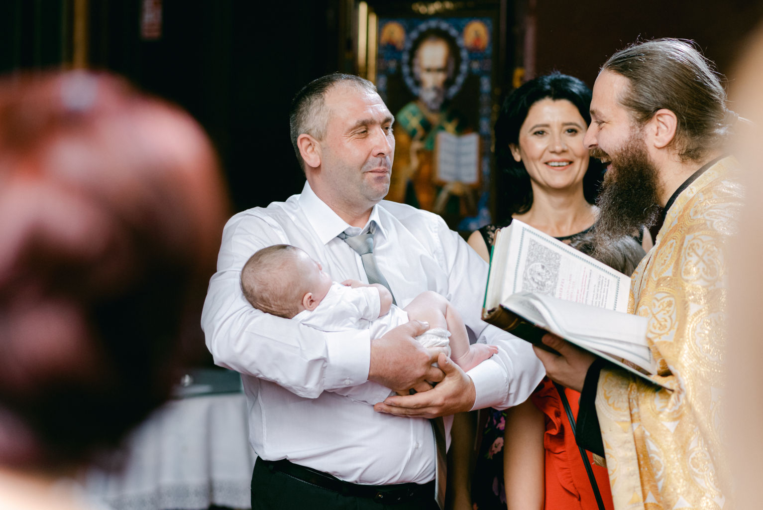 baptism photographer Paris France
