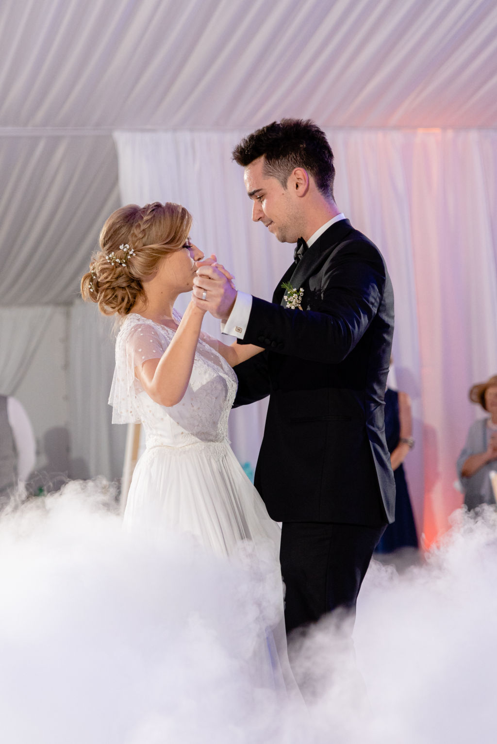 first dance wedding photographer Nice France wedding photography